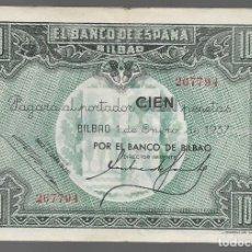 Monedas locales: BILBAO. 100 PTAS. VARIEDAD. DIFERENTES FIRMAS DIRECTOR GERENTE,.- VER FOTOS. Lote 283364173
