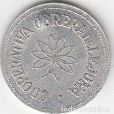 Monedas locales: FICHA: 50 PESETAS COOPERATIVA OBRERA DE LEJONA ( VIZCAYA ). Lote 285189973