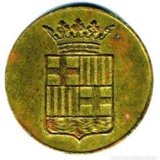 Monedas locales: XS- SANTA MARIA DEL MAR (BARCELONA) PELLOFA - GITÓ OBRA LAICA. Lote 288740543
