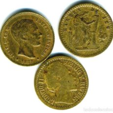 Monedas locales: XS- MINIATURAS LAUER LOTE X3 ESPAÑA - FRANCIA - BAVIERA. Lote 288741578