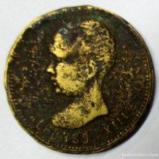 Monedas locales: MADRID 1888. ALFONSO XIII. FICHA PUBLICITARIA DEL PRIMER FESTIVAL INFANTIL. LOTE 3899. Lote 288902393