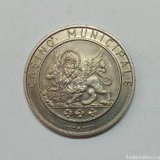 Monedas locales: FICHA CASINO MUNICIPALE VENECIA, ITALIA. Lote 290191423