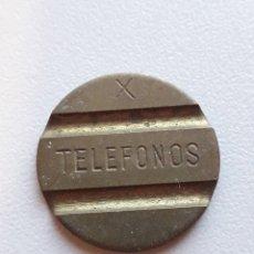 Moedas locais: FICHA TELÉFONO X CABINA TELEFÓNICA TELÉFONO PÚBLICO. Lote 290992958