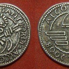 Monedas locales: FICHA MOROS Y CRISTIANOS DE ALCOY ALCODIANS CAPITA 2008. Lote 294845833