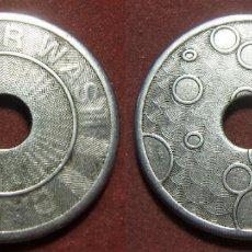 Monedas locales: FICHA COMERCIAL CAR WASH. Lote 294846143