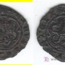 Monedas medievales: CASTILLA: ENRIQUE III BLANCA CUENCA AB-600 (1). Lote 26695759
