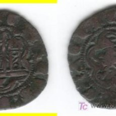 Monedas medievales: CASTILLA: ENRIQUE III BLANCA CUENCA AB- 600 (3). Lote 26695747