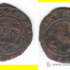 Monedas medievales: CASTILLA: ENRIQUE III BLANCA CUENCA AB- 600 (4). Lote 26695746