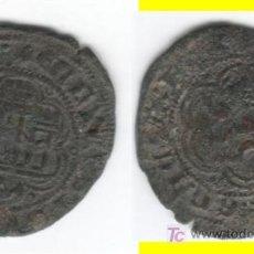 Monedas medievales: CASTILLA: ENRIQUE III BLANCA BURGOS AB-597 (1). Lote 26695753