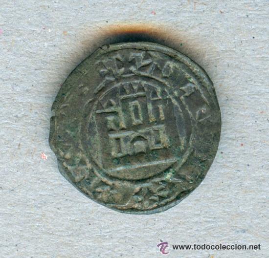 MARAVEDI PRIETO ALFONSO X EL SABIO ( REY DE CASTILLA 1252 - 1284 ) - VELLON (Numismática - Medievales - Castilla y León)