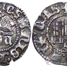 Monedas medievales: *** ESCASO Y BONITO 1/6 DE REAL DE JUAN I SEVILLA, AÑO:1379 -1390. PLATA ***. Lote 26737146