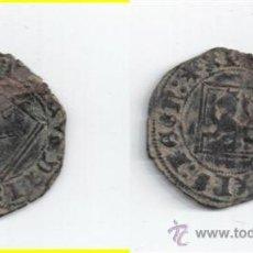 Monedas medievales: CASTILLA: ENRIQUE IV BLANCA ROMBO BURGOS AB-828. Lote 26680693