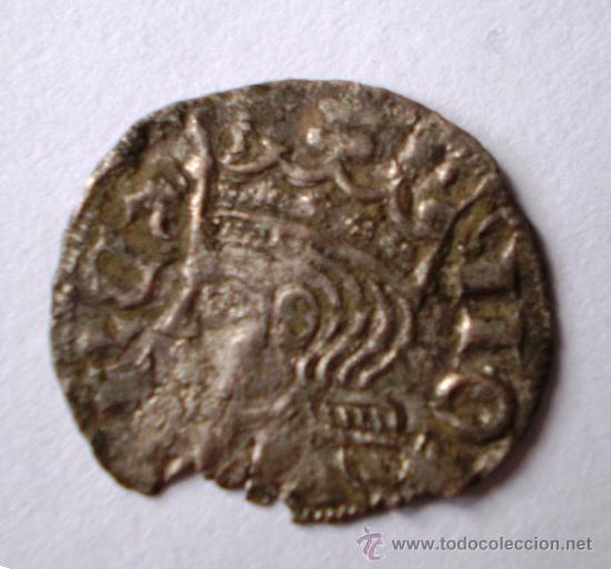 CORNADO DE LEÓN ALFONSO XI EL JUSTICIERO ESCASA VER FOTOS (Numismática - Medievales - Castilla y León)