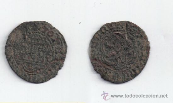 CASTILLA: JUAN II BLANCA SEVILLA AB-628 (Numismática - Medievales - Castilla y León)