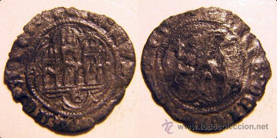 BLANCA DE ENRIQUE III CECA DE BURGOS (Numismática - Medievales - Castilla y León)