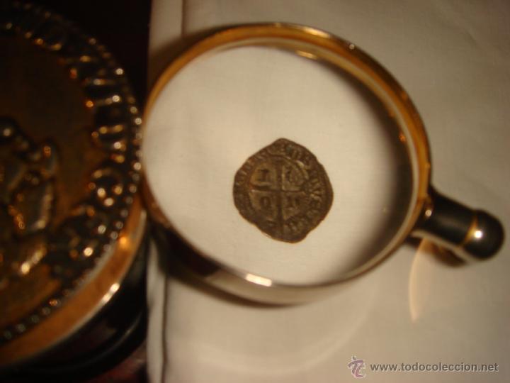 Monedas medievales: CRUZADO DE LEON, EPOCA ENRQUE II, SIGLO XIV, CECA DE LEON - Foto 3 - 32947745