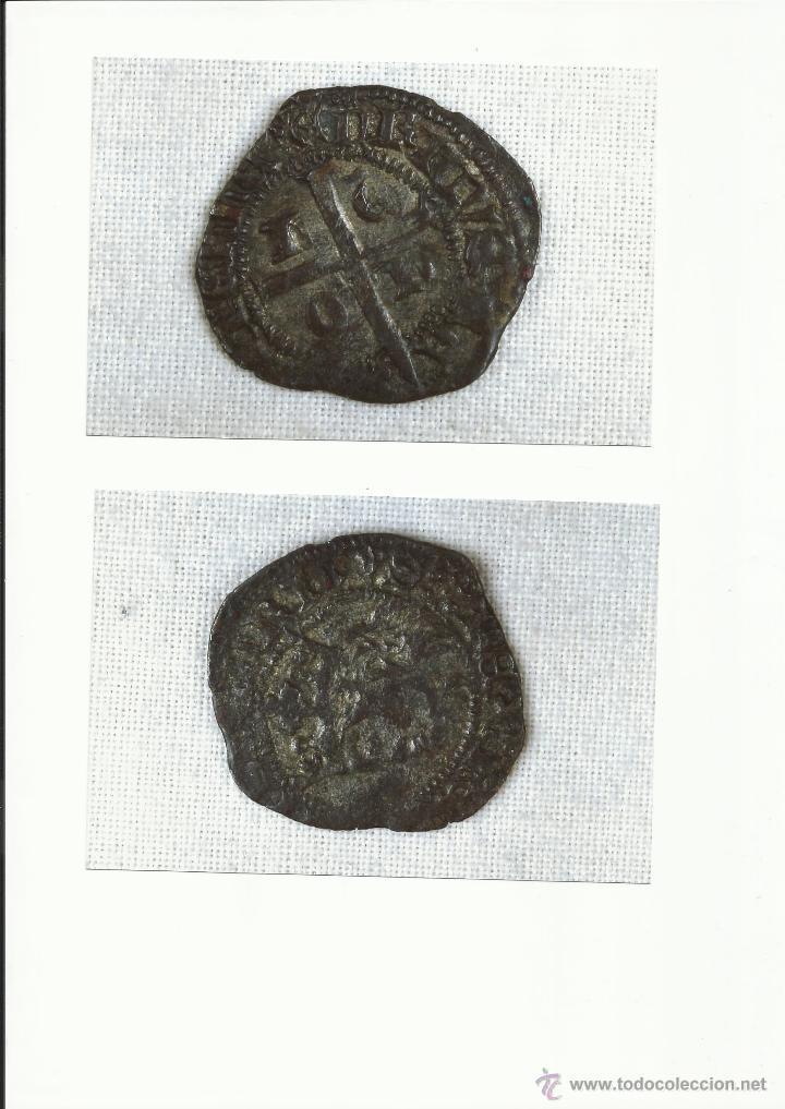 CRUZADO DE LEON, EPOCA ENRQUE II, SIGLO XIV, CECA DE LEON (Numismática - Medievales - Castilla y León)