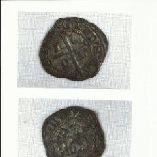 Monedas medievales: CRUZADO DE LEON, EPOCA ENRQUE II, SIGLO XIV, CECA DE LEON. Lote 32947745