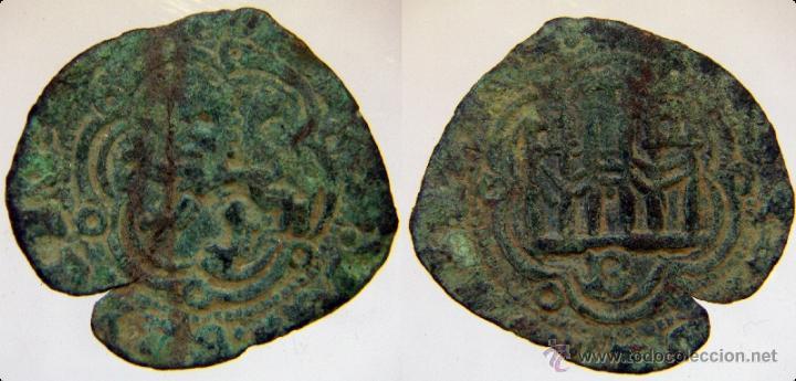 BLANCA DE ENRIQUE III CECA BURGOS (Numismática - Medievales - Castilla y León)