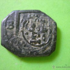 Monedas medievales: MONEDA MEDIAVAL RESELLADA. Lote 43319995