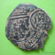 Monedas medievales: MONEDA MEDIAVAL RESELLADA. Lote 43352880
