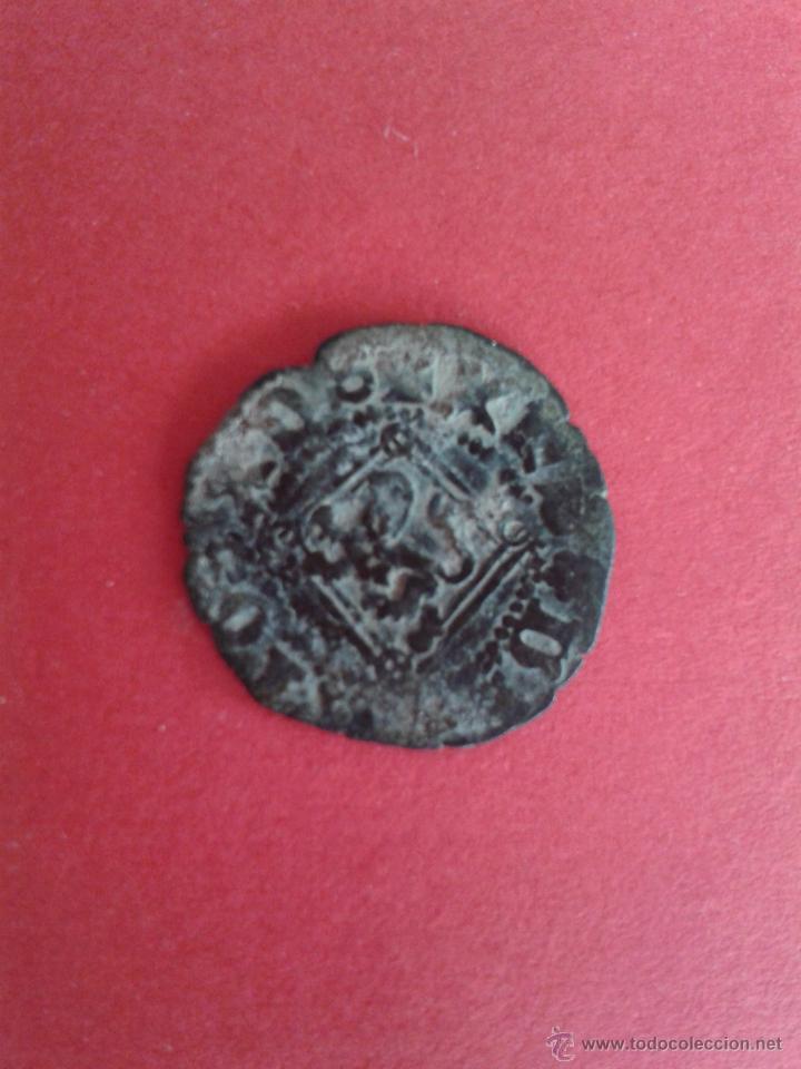 ENRIQUE IV. EL IMPOTENTE. 1454-1474. DINERO DEL ROMBO. CECA DE SEVILLA. (Numismática - Medievales - Castilla y León)