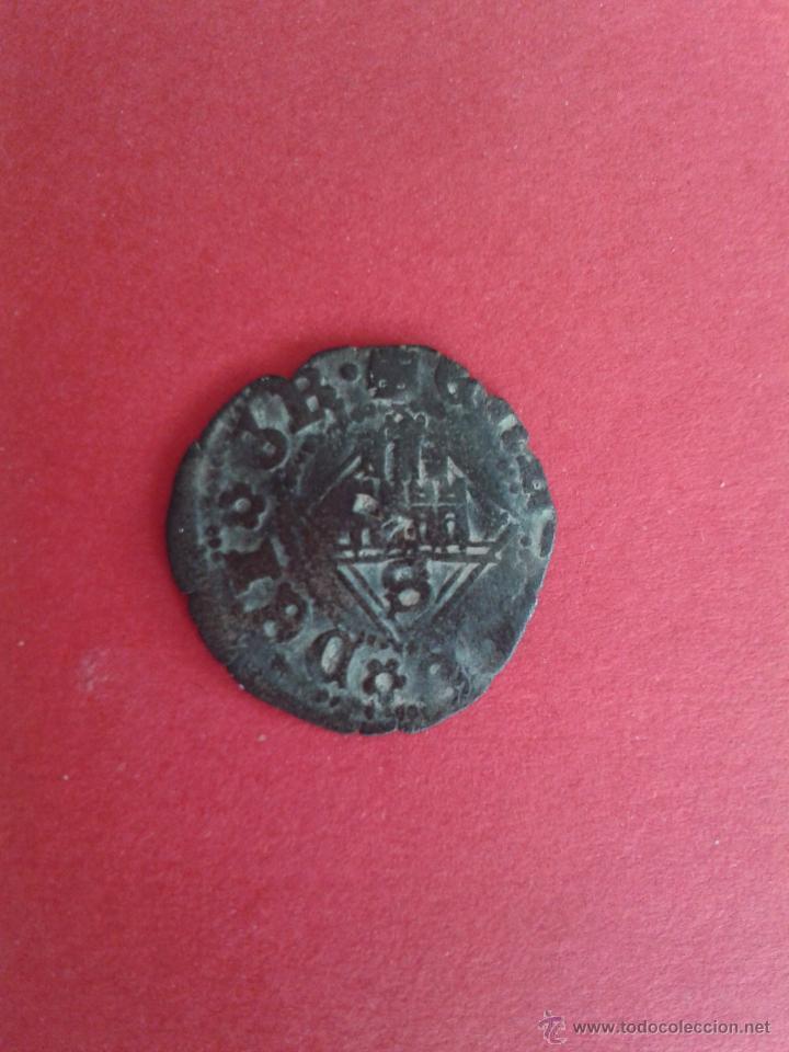 Monedas medievales: ENRIQUE IV. EL IMPOTENTE. 1454-1474. DINERO DEL ROMBO. CECA DE SEVILLA. - Foto 2 - 48605123