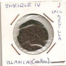 Monedas medievales: MONEDA MEDIAVAL ENRIQUE IV 1454-1474 BLANCA (VELLÓN) CECA SEVILLA S . MBC-. Lote 169438162