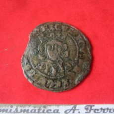 Monedas medievales: CUARTILLO DE ENRIQUE IV. SEVILLA. #MN. Lote 49155385