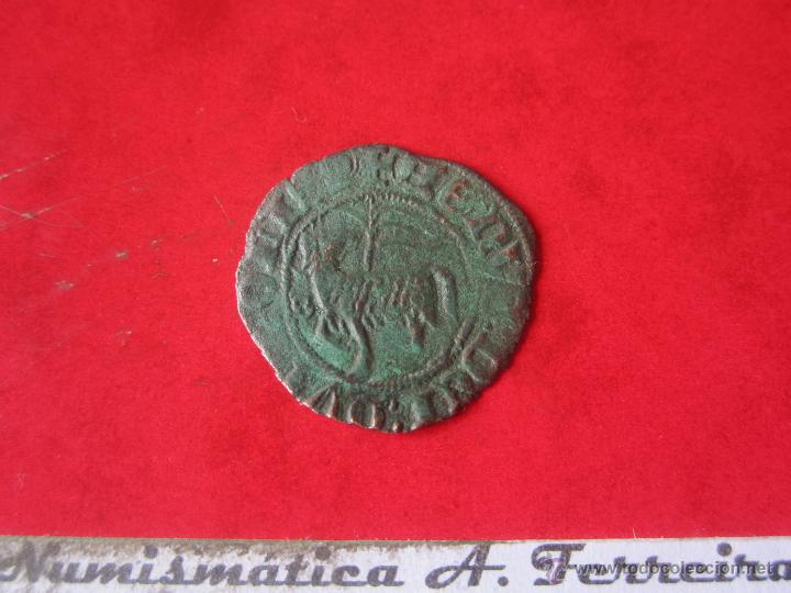 Monedas medievales: Blanca del agnus dei. Juan I. Sevilla. #Mn - Foto 2 - 49158209