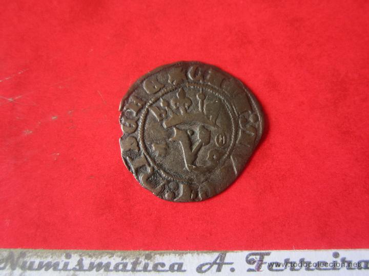 BLANCA DEL AGNUS DEI. JUAN I. TOLEDO. #MN (Numismática - Medievales - Castilla y León)