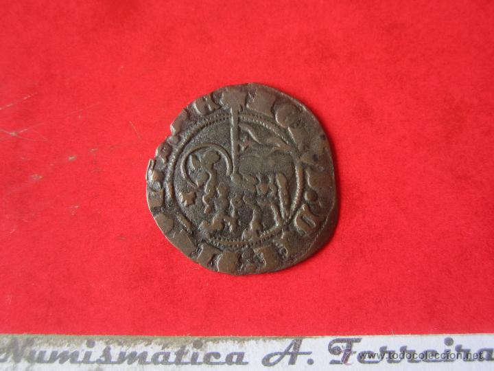 Monedas medievales: Blanca del agnus dei. Juan I. Toledo. #Mn - Foto 2 - 49158227