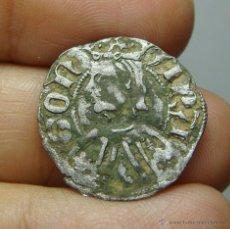 Monedas medievales: DINERO DE VELLÓN. PEDRO IV DE ARAGON.. Lote 50941500
