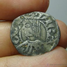Monedas medievales: DINERO DE VELLON. PEDRO IV DE ARAGON.. Lote 50941523