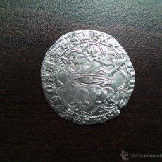 Monedas medievales: SPAIN 1 REAL ENRIQUE IV HEN CORONADA TOLEDO T CERTIFICADA CASA SUBASTAS. Lote 51693046