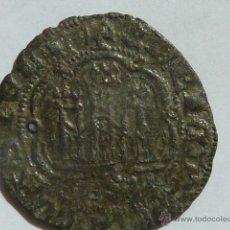 Monedas medievales: MONEDA MEDIEVAL DE UNA BLANCA VELLON DE ENRIQUE III EL DOLIENTE (1390 1406) CECA DE SEVILLA. Lote 52597660