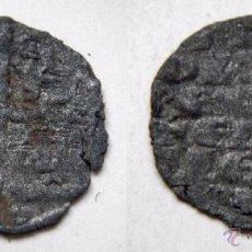 Monedas medievales: ALFONSO X EL SABIO DINERO DE SEIS LINEAS. Lote 52600217