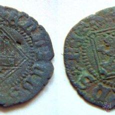 Monedas medievales: MONEDA BLANCA DEL ROMBO ENRIQUE IV. Lote 52612235