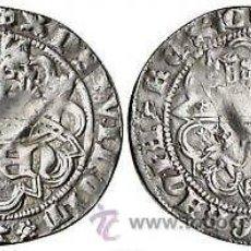 Monedas medievales: REAL PLATA DE ANAGRAMA ENRIQUE IV SEGOVIA (1454-1474) REINO DE CASTILLA Y LEON. Lote 53163625