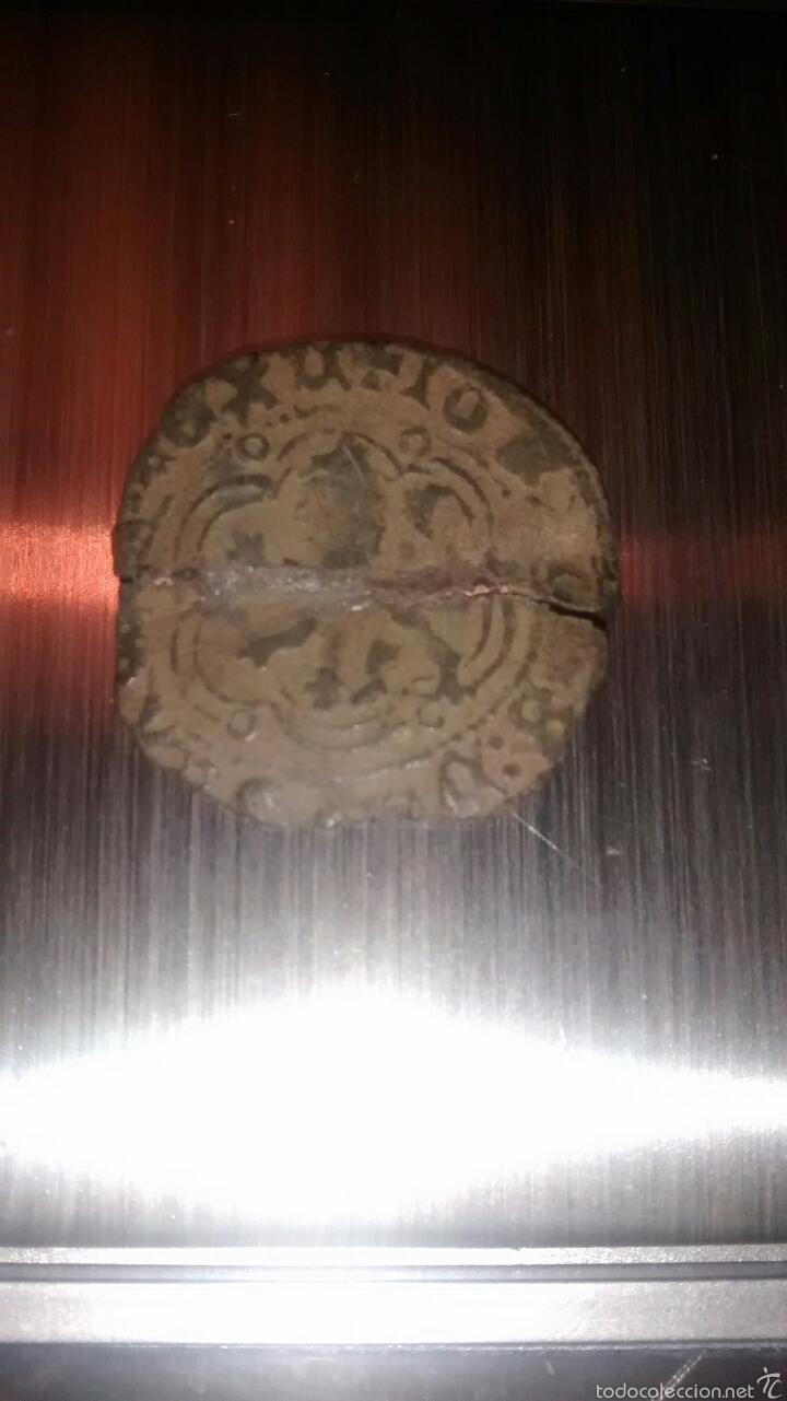MONEDA BLANCA ENRIQUE III BURGOS 1390 - 1406 (Numismática - Medievales - Castilla y León)