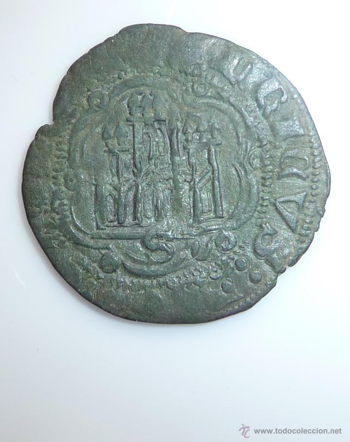 Monedas medievales: BLANCA DE ENRIQUE III (1390-1406). CECA : **SEVILLA** - Foto 3 - 54015885