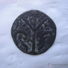 Monedas medievales: MONEDA DINERO VELLON DE ALFONSO IX. Lote 54745698