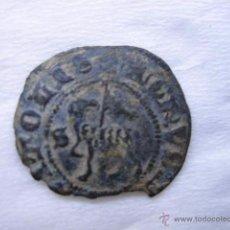 Monedas medievales: MONEDA 1/2 BLANCA DE AGNUS DEI VELLON DE JUAN I. CECA SEVILLA. Lote 54745884