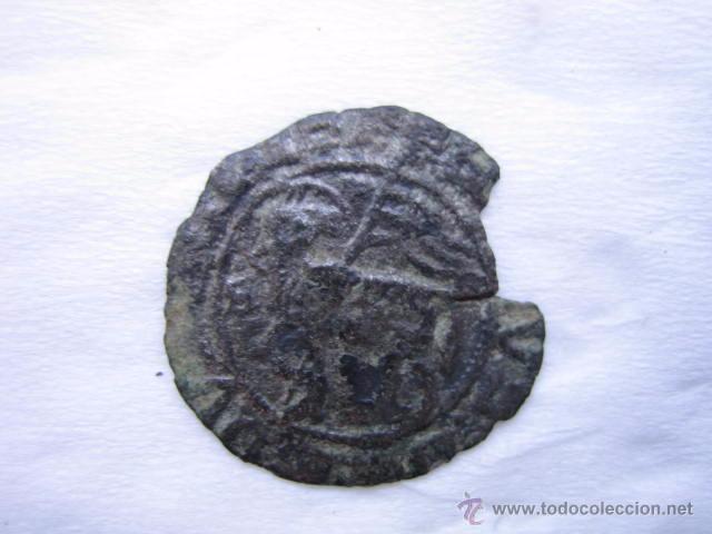 MONEDA BLANCA DE AGNUS DEI VELLON DE JUAN I. CECA BURGOS (Numismática - Medievales - Castilla y León)