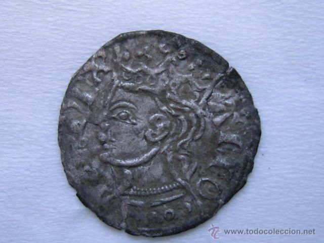 MONEDA CORNADO VELLON ALFONSO XI. CECA BURGOS (Numismática - Medievales - Castilla y León)