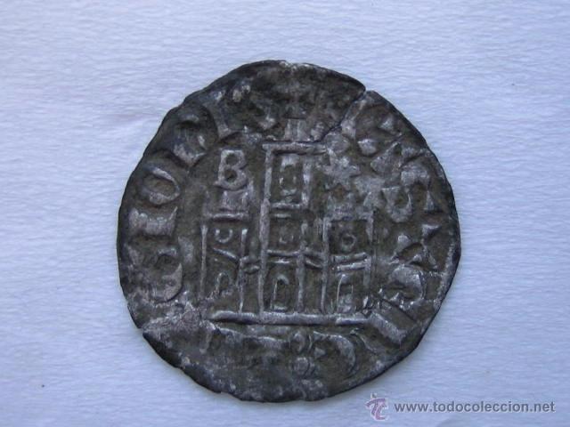 Monedas medievales: MONEDA CORNADO VELLON ALFONSO XI. CECA BURGOS - Foto 2 - 54747449