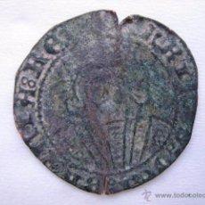Monedas medievales: MONEDA BLANCA VELLON ENRIQUE IV. CECA JAEN. Lote 54747585