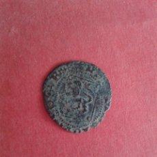 Monedas medievales: ENRIQUE IV. EL IMPOTENTE. 1454-1474. DINERO DEL ROMBO. CECA DE SEVILLA. DOBLE ACUÑACIÓN. REPINTADA.. Lote 56667053