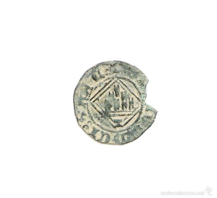 Monedas medievales: BLANCA ROMBO DE ENRIQUE IV. CUENCA - Foto 2 - 57024610