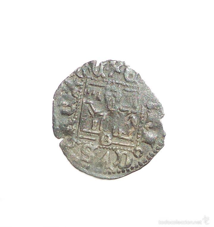 Monedas medievales: NOVEN DE ENRIQUE II - 1368-1379. CECA: Burgos - Foto 2 - 57024653